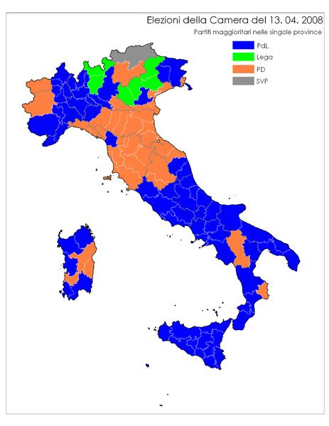 I numeri che la lega non ha cronache dal nord italia - Regioni italiane non bagnate dal mare ...